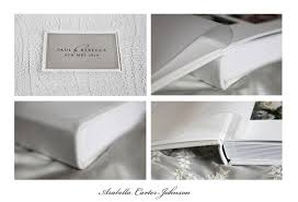 leather wedding albums queensberry wedding album in ivory leather arabella