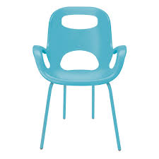 Turquoise Armchair Chairs Umbra