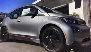 matte bmw see the bmw i3 wrapped in matte grey ecomento com