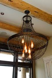 Chicken Wire Chandelier Dishfunctional Designs Beautiful Upcycled Barbed Wire Creations