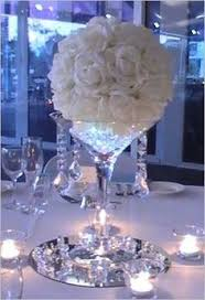 tall martini glass vases for centerpieces wedding reception