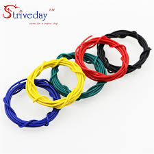 ul1007 28awg cable copper wire 1 meter each red blue green black