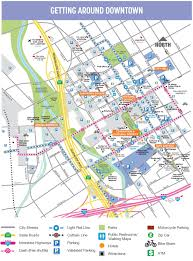 san jose district map san jose downtown map