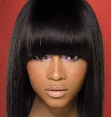 pictures on short sew in hairstyles shoulder length hairstyles