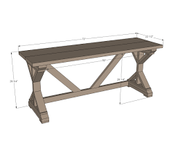 Ana White Truss Coffee Table Diy Projects by Ana White 55 Fancy X Desk Diy Projects