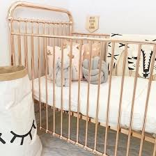 Bedroom Ideas Rose Gold Ellie Rose Gold Crib Classic Crib Cribs Baby Furniture