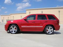 srt jeep red 275 315 nitto nt05 combo mounted up cherokee srt8 forum