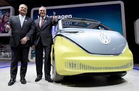 volkswagen electric car volkswagen vows to rev up electric car push turnaround efforts