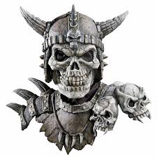 Halloween Costume Viking by Kronos Mask And Shoulders Masks