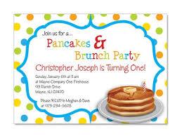 birthday brunch invitation pancake brunch birthday invitations pancake breakfast birthdays