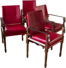 Leather Upholstery Chair Maclaren Dining Chair In Leather Contemporary Traditional Mid