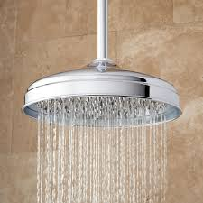 rain shower head system vintage shower system signature hardware