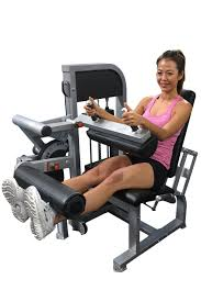 leg extension seated leg curl combo machine muscle d fitness