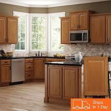 medium oak kitchen cabinets home depot kitchen cabinets color gallery at the home depot kitchen