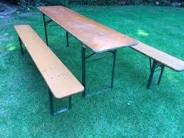 german beer garden table and bench german beer garden table and bench set in brighton east