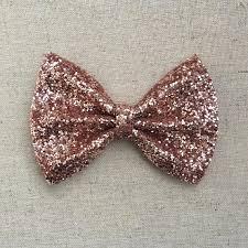 hair bow tie gold glitter bow tie gold glitter hair bow glitter