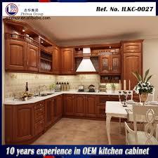 Kitchen Modular Design Real Wood Kitchen Cabinets