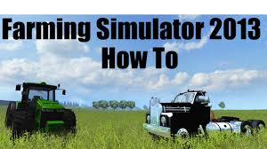 Map To Work Farming Simulator 2013 Tutorial How To Get The All American Map