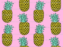 pineapple tropical summer pineapple fruits food pink girly