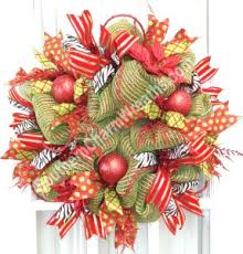 how to make a mesh wreath how to make deco mesh wreaths