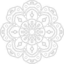 mandala art coloring page for coloring point coloring point