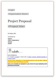 proposal template tools4dev
