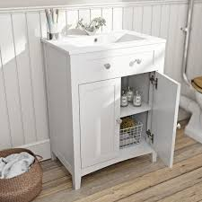 Bathroom Sink And Vanity Unit by The Bath Co Camberley White Vanity Unit With Basin 600mm