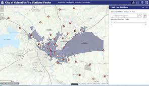 Columbia Sc Map City Of Columbia Gis Landing Page