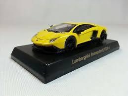 lamborghini aventador lp720 4 1 64 lamborghini aventador lp720 4 yellow oem by kyosho ebay