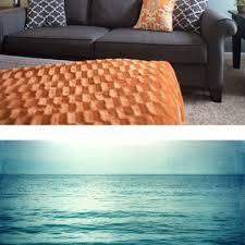 Wohnzimmer Orange Blau Gemütliche Innenarchitektur Gemütliches Zuhause Wohnzimmer