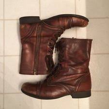 s lace up combat boots size 12 block leather lace up combat boots for ebay