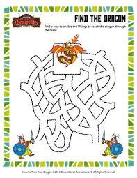 find the dragon u2013 printable maze worksheet of dragons