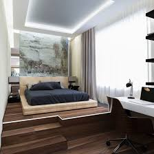 Space Saving Queen Bed Frame Bedroom Sets Queen For Apartment Elegant Brown Teak Wooden Bed