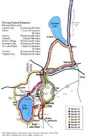 Sparks Nevada Map Lake Tahoe Area Maps Detailed Lake Tahoe Area Map By Region