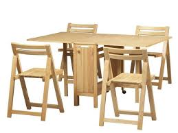 Fold Away Dining Table And Chairs Build A Collapsible Dining Table Dans Design Magz