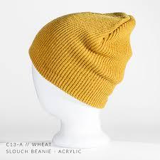 c13 a slouch custom beanie acrylic u2014 captuer headwear