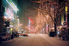 pix for u003e new york city christmas time snow ahh pinterest
