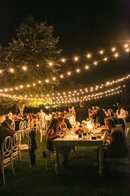 wedding lighting ideas outdoors best 25 backyard wedding lighting