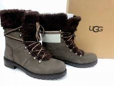 ugg boots australian leather ugg australia leather comfort lace up boots for ebay