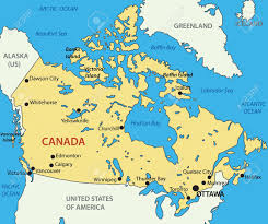Ocean City Map Canada Map Royalty Free Cliparts Vectors And Stock Illustration