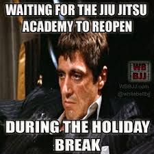 Holiday Meme - meme waiting for the academy to reopen after the holidays