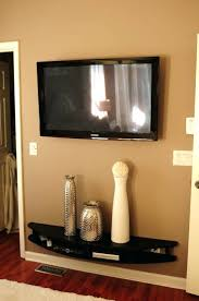 Bedroom Furniture With Hidden Tv Full Image For Black Modern Tv Stand Wall Mounted Shelf Ideas