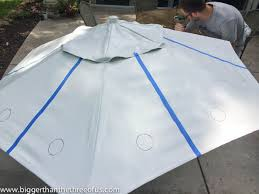 Paint Patio Umbrella Upcycle An Patio Umbrella To A Beautiful Painted One