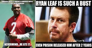 Brandon Weeden Memes - hilarious nfl quarterback bust memes thesportster
