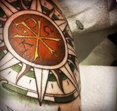 greek tattoos design compass tattoo tattoomagz