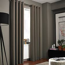 Standard Window Curtain Lengths Kenneth Cole Reaction Home Gotham Texture Lined Grommet Window