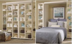 Folding Bookshelves - madison bi fold murphy bed more space place dallas