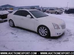 4 door cadillac cts used 2008 cadillac cts sedan 4 door car for sale at auctionexport