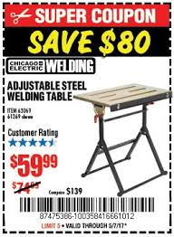 harbor freight welding table harbor freight tools that don t page 728