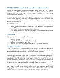 Resume To Work Qdro Consultants Company Llc Linkedin